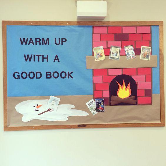 环创 | 冬天最是读书天:童话般的主题墙,盛装打扮的读书角