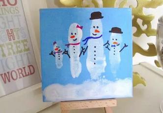 冬季手工 | 当涂鸦撞上冬天,竟擦出如此艺术的作品!