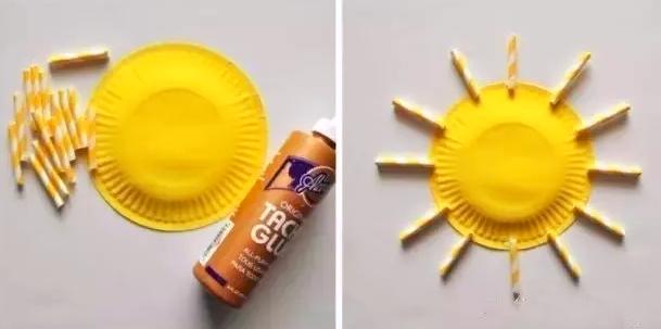 托小班冬日手工 | 做个大太阳,让我们的班级不再寒冷!