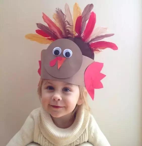 感恩节自制玩教具及角色扮演游戏