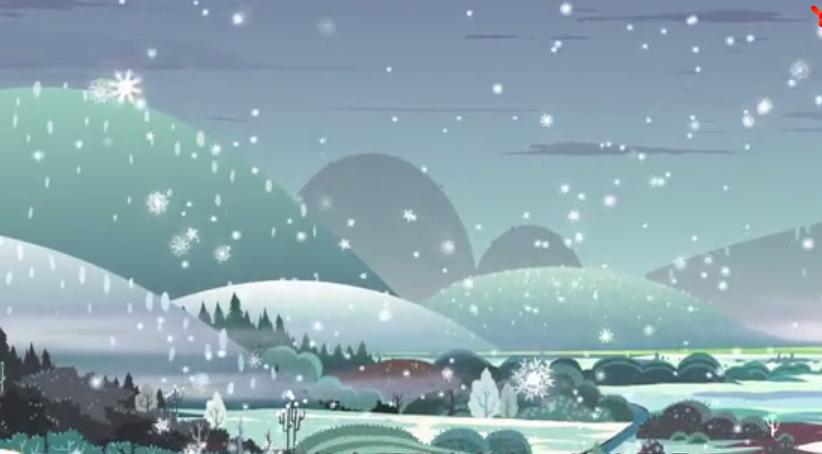 二十四节气图画故事 | 第二十节《小雪》