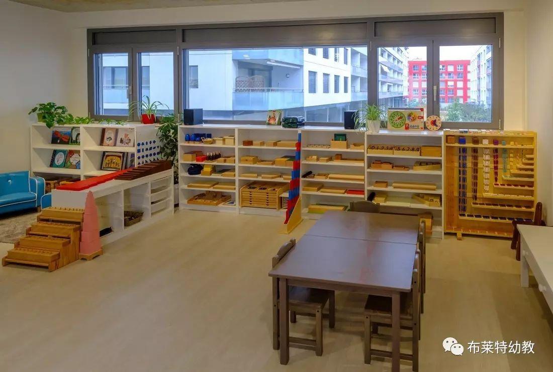 蒙台梭利环创 | 如何布置3-6岁蒙氏教室之总体风格篇