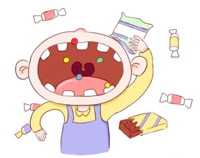 小班爱牙主题绘画 | 《爱吃糖果的小朋友》