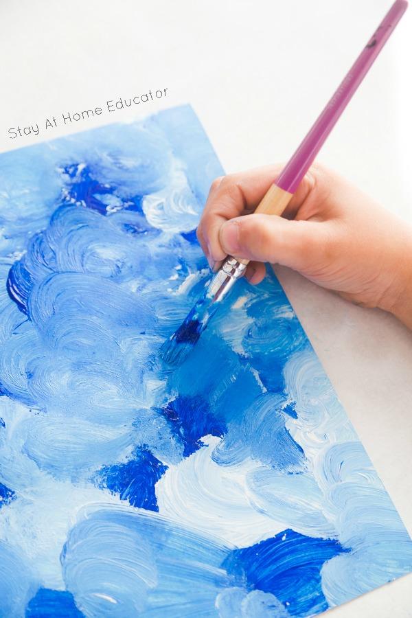 冬季绘画 | 画雪,冬季美事,何乐不为?