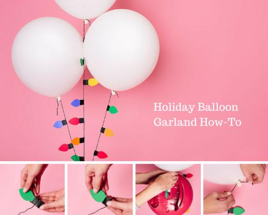 圣诞节环创 | 用气球布置圣诞节,简直美到犯规