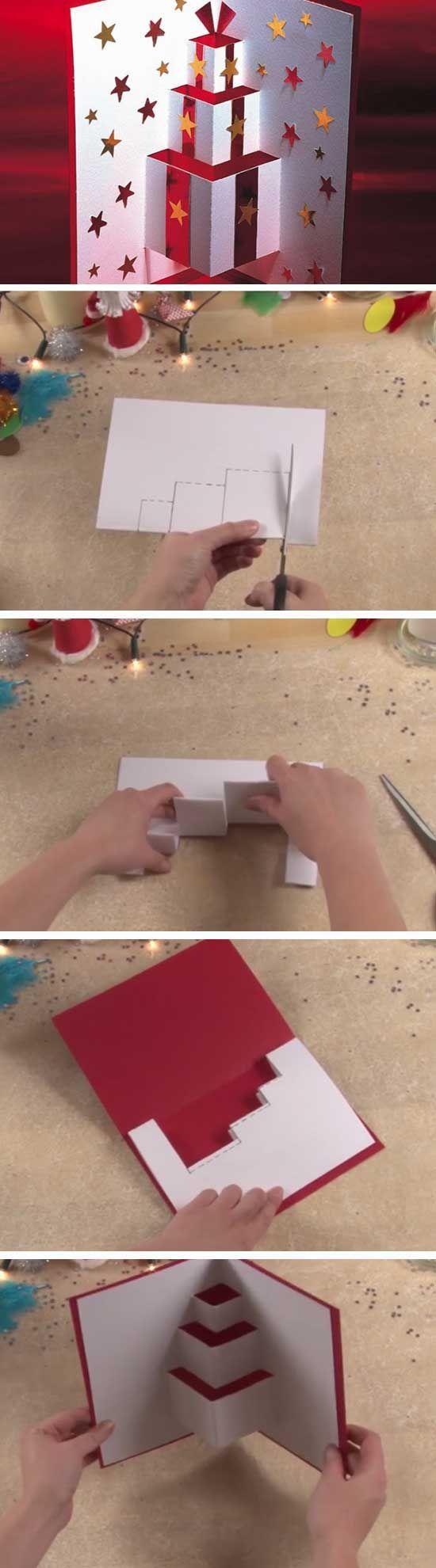 圣诞节贺卡 | 平面的立体的,各种创意贺卡大集合!
