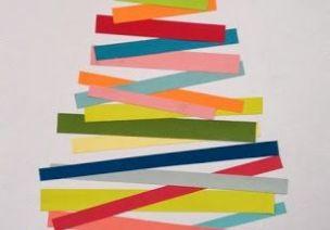 圣誕節手工 | 7款簡簡單單、色彩繽紛的圣誕樹折紙