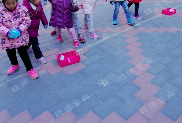 中班健康领域 | 体育活动《投雪球》教案