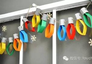 圣诞节吊饰   普通的纸条、纸板竟也能做出漂亮的吊饰!
