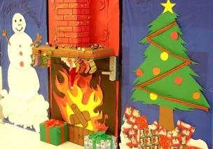 圣诞环创   叮!你的圣诞节环创包裹到啦,请查收!