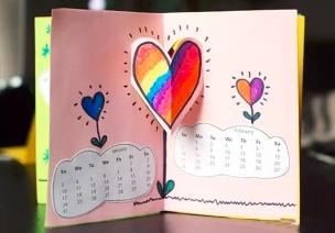手工 | 做个美美的新年日历过元旦,一整年都能看到