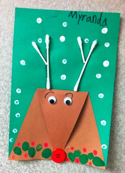手工   圣诞节最适合托小班幼儿制作的手工都在这里了,赶快来看!