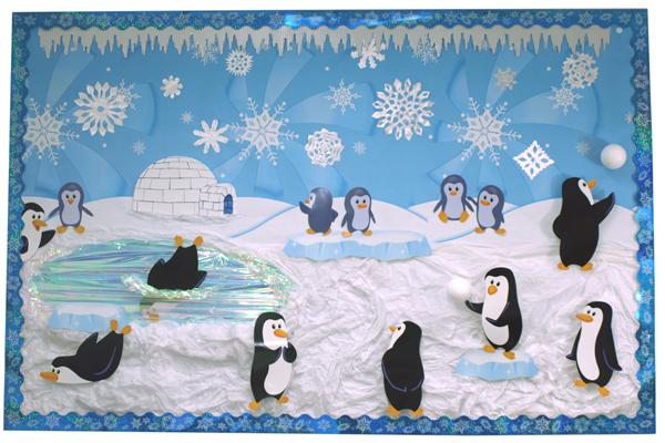 冬天主题墙 | 主题网络图+墙面装饰+剖析,实力干货