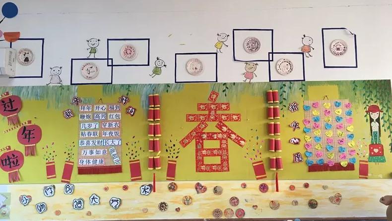 环创   新年教室布置,看这一篇就够啦!!