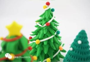 圣誕節手工 | 捏呀捏,這些紙粘土讓孩子開心到冒泡!