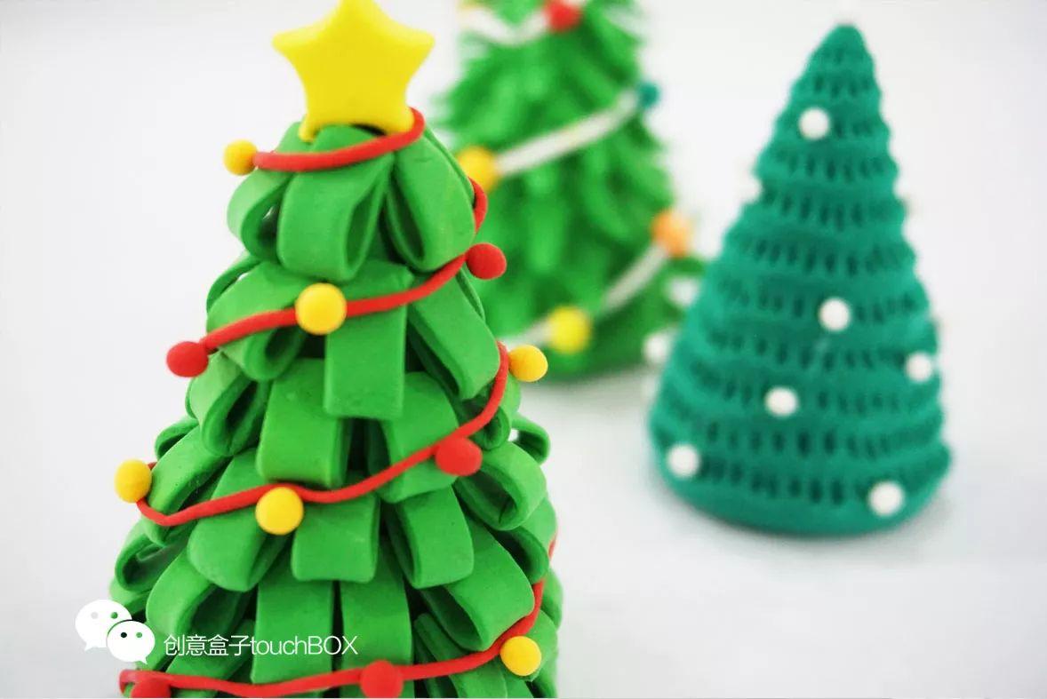 圣诞节手工 | 捏呀捏,这些纸粘土让孩子开心到冒泡!