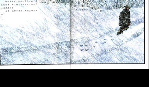 绘本欣赏 | 《雪花人》