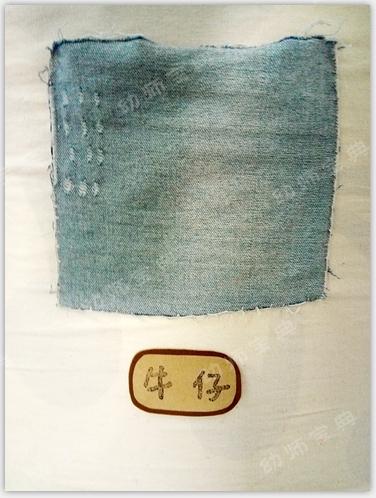 感官区自制玩教具   各种材质的布