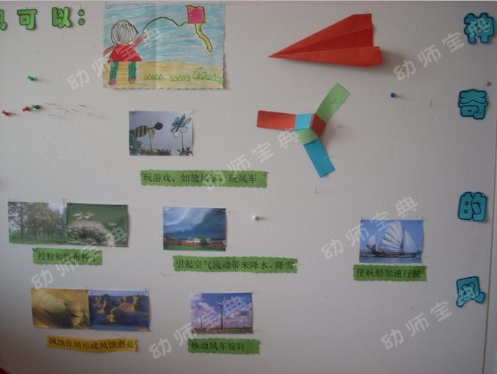 中班主题墙 | 春季主题《风中的秘密》