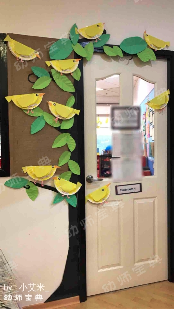 整体环创 | 春季,我们的幼儿园就该春暖花开