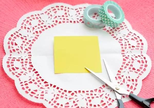 手工 | 自带仙女气质、简直无法抗拒的蛋糕垫纸