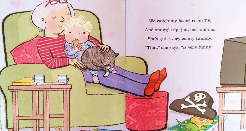 绘本 | 献给所有的奶奶姥姥《I love my Grandma》
