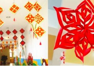 春节环创 | 教室门口用这几种吊饰,效果更好
