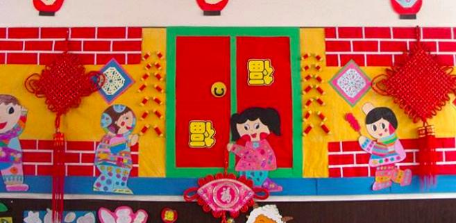 春節環創 | 教室門口用這幾種吊飾,效果更好