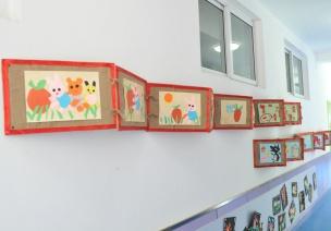 走廊环创 | 剪呀剪,剪出孩子喜欢的剪纸走廊
