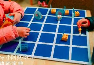 大班数学区自制玩教具