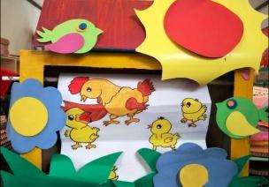 中班语言区自制玩教具