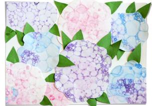 美工区 | 五种简便有趣的创意绘画方法,让烂漫春花开满教室!