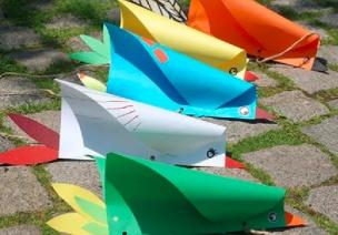 春天到了,没有风筝怎么行?十分钟DIY创意风筝做起来!