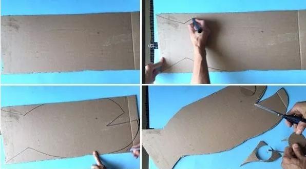 环保手工 | 要是所有的快递纸箱都能被老师做成玩教具,园长肯定乐坏了!