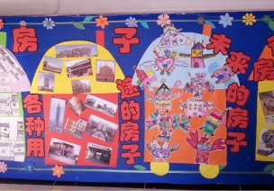 优秀教师最常用 | 各种各样的房子主题环创+区角,快来收藏!