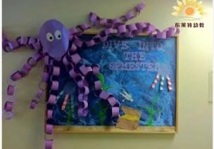 还为主题墙发愁吗?一起来看国外幼儿园如何玩转创意主题墙