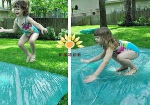 夏季游戏   一起来看夏季国外幼儿园的专属游戏