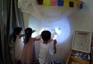 中班主题活动《光与影》
