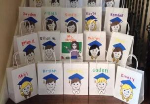 国外幼儿园毕业创意   细节中的仪式感