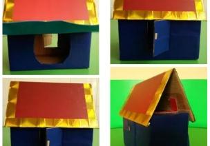 自制玩教具 | 《神奇的黏黏板》《神奇的房子》