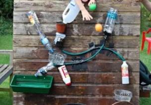 暑期游戏   暑期在家怎么玩?DIY一面这样的水墙,保证孩子玩一天!