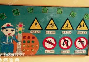 环创 | 为孩子做这样一面安全主题墙,让危险远离孩子