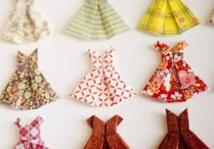 折纸手工 | 夏天到了,你穿裙子了么?裙子折纸大全请笑纳