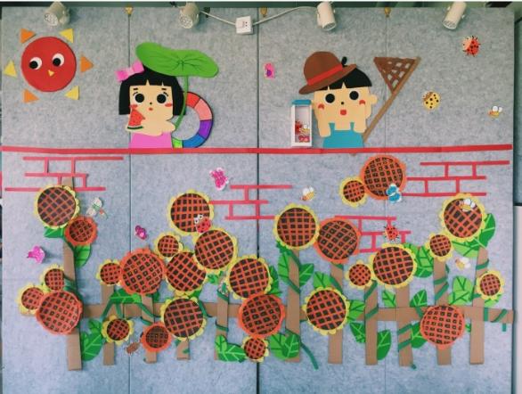 夏日主题墙创设&区角活动一网打尽!