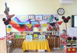 全屋环创 | 新学期想和孩子一起住进童话乐园,那就来套米奇系列环创!