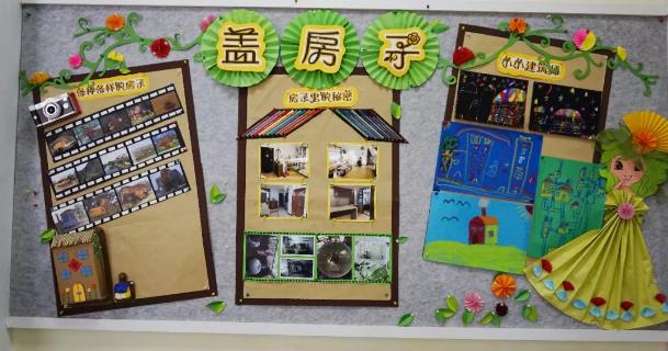 积木搭建图片_主题墙   听说70%的中班大班老师都开设过这些主题墙-幼师宝典官网