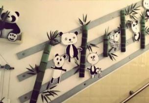 公共区环创 |@老师们,新学期走廊楼梯的布置创意,了解一下!