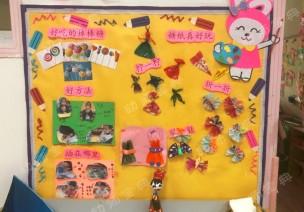 小班主题墙&区角创设《神奇糖果店》
