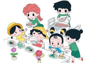 幼儿园一日流程漫画版,日系清新,看完秒懂~