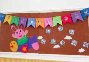 环境创设   小班开学主题墙,嗨~你好!